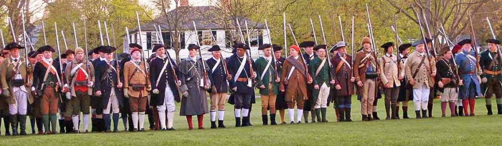 Patriots' Day in Lexington 2021 is the 246th Anniversary of the Battle of Lexington